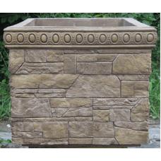 Бетонная декоративная для улицы древний пласт Д-003. 60 литров