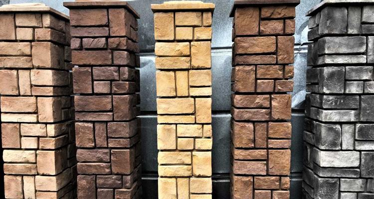 Изготовление декоративных заборных блоков в Абакане